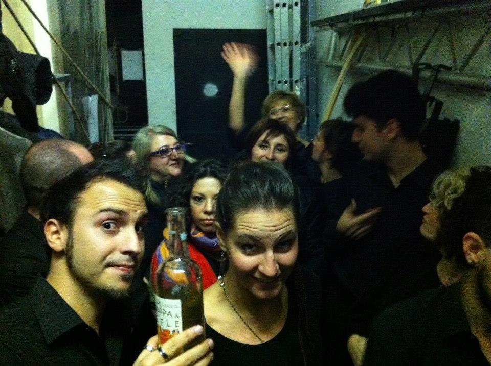 L'Orso con Orchestra, Backstage!