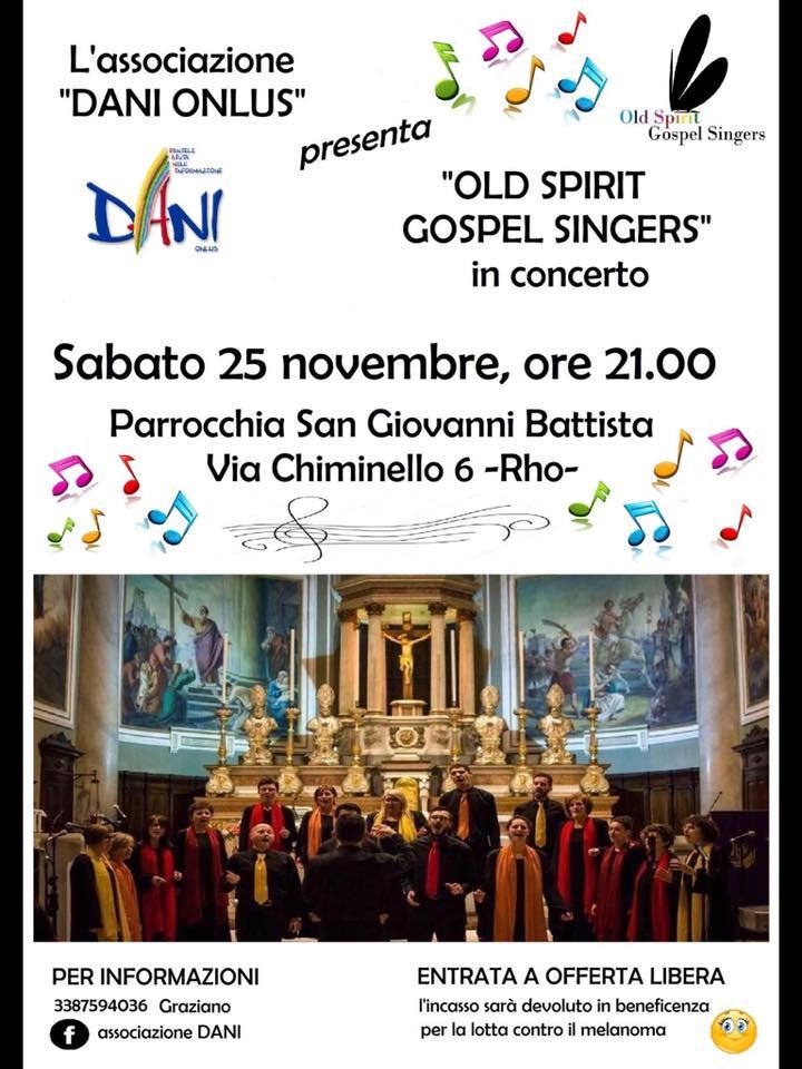 Concerto per associazione DANI Onlus